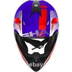 Shark Varial Anger Motocross Helmet MX Quad Dirt Bike ATV Enduro Lid DD-Ring ECE
