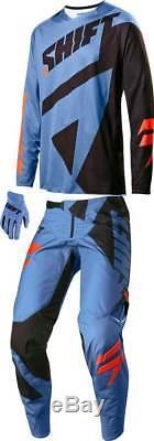 Jersey Pant MX Motocross Dirt Bike ATV Gear Shift Black Label Mainline Combo