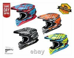 Shoei VFX-EVO Glaive TC MX Motocross Off Road Dirt Bike ATV/UTV All Colors