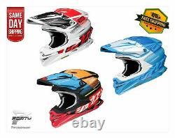 Shoei VFX-EVO Zinger TC MX Motocross Off Road Dirt Bike ATV/UTV All Colors