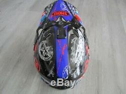 Shoei Vfx Motocross Helmet Size Adult Small Dirt Bike Atv