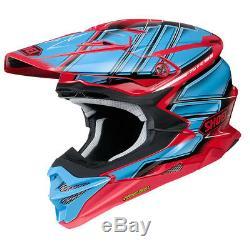 Shoei Vfx-evo Glaive Tc1 MX Motocross Enduro Motorcycle Dirt Bike Atv Helmet
