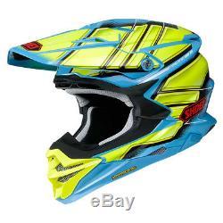 Shoei Vfx-evo Glaive Tc2 MX Motocross Enduro Motorcycle Dirt Bike Atv Helmet