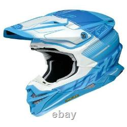 Shoei Vfx-wr Zinger Tc2 MX Motocross Enduro Motorcycle Dirt Bike Atv Helmet