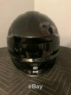Shoei vfx-w Motocross Helmet Dirt Bike L LARGE Nice Off-road Atv Fox Bell 6d
