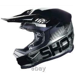 Shot Furious Coalition Motocross Off Road Enduro ATV Quad Dirt Bike Helmet