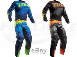 Thor MX Pulse Velow Jersey & Pant Combo Set ATV Motocross Dirt Bike Riding Gear