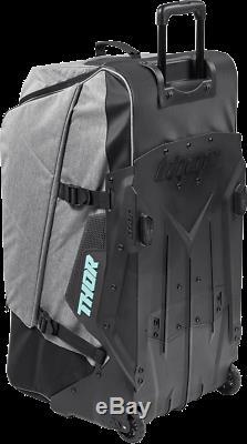 Thor MX Transit Wheelie Roller Gear Bag Pack Black Mint Motocross ATV Dirt Bike