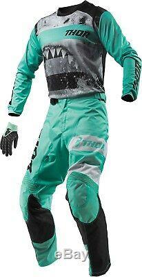 Thor Pulse Jaws Combo Jersey Pant MX Motocross Dirt Bike ATV Off-Road Gear