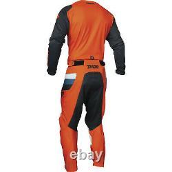 Thor Pulse Racer Motocross Jersey & Pants Orange Midnight Kit Quad Dirt Bike ATV