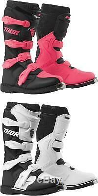 Thor Women's Blitz XP Boots MX Motocross Dirt Bike Off-Road ATV Gear