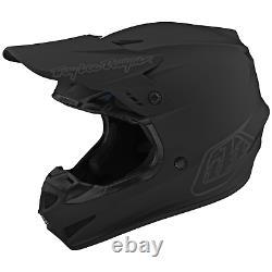 Troy Lee Designs Se4 GP Helmet TLD Mx Motocross Dirt Bike Enduro Atv MONO BLACK