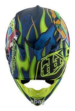 Troy Lee Designs Se4 Helmet Composite TLD MX Motocross Dirt Bike Dh Mtb Eyeball