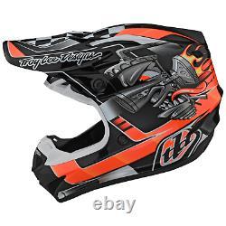 Troy Lee Designs Se4 Helmet Polyacrylite TLD Mx Motocross Dirt Bike CARB BLACK