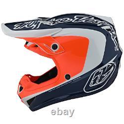 Troy Lee Designs Se4 Helmet Polyacrylite TLD Mx Motocross Dirt Bike CORSA NAVY