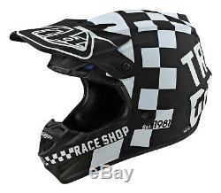 Troy Lee Designs Se4 Helmet TLD MX Motocross Dirt Bike Enduro ATV Checker 2020