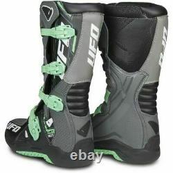UFO Elektron Adult Motocross Boots Quad ATV Dirt Bike Brand New SALE Size 8.5