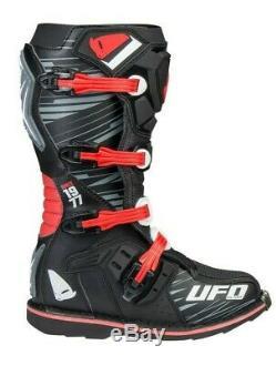UFO Obsidian Motocross Boots Off Road Sports Dirt Bike ATV All Sizes Black