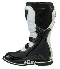 UFO Obsidian Motocross Boots Off Road Sports Dirt Bike ATV All Sizes White