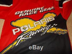 VTG-1990s Polaris ATVs Motocross Dirt Bikes Racing Hockey Jersey