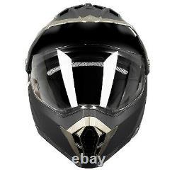 Westt Cross Motorbike Helmet Motocross Helmet for Dirt Bike ATV Off Road wi