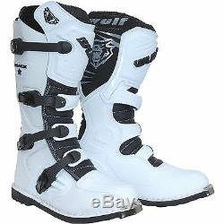 Wulf Track Star Motocross Boots Off Road Sports Dirt Bike ATV All Size RJ