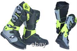 Wulfsport JM CONCEPT RACER BOOTS Adult Motocross Quad ATV Dirt Bike