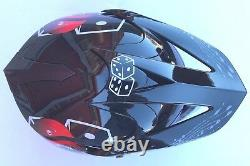 Youth Motocross Helmo Helmet Black Skull + Goggles Bundle off road ATV Dirt Bike